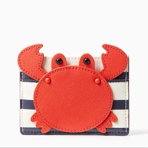 KATE SPADE Shore Thing Leather Card Holder